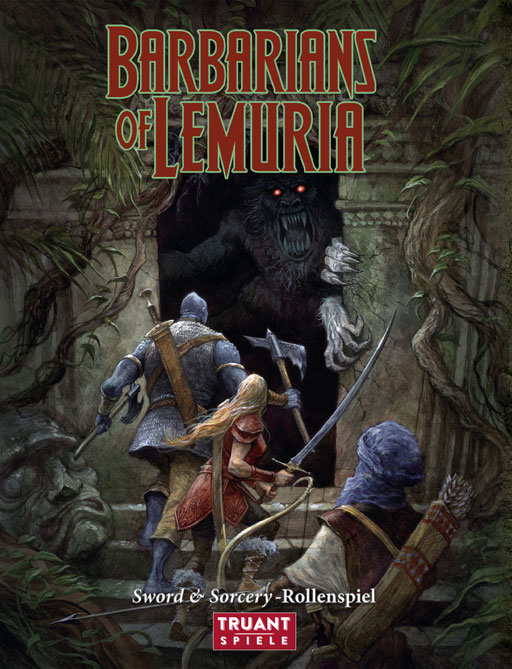 Barbarians of Lemuria en version allemande