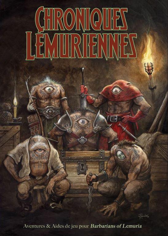 Couverture livre Chroniques Lémuriennes