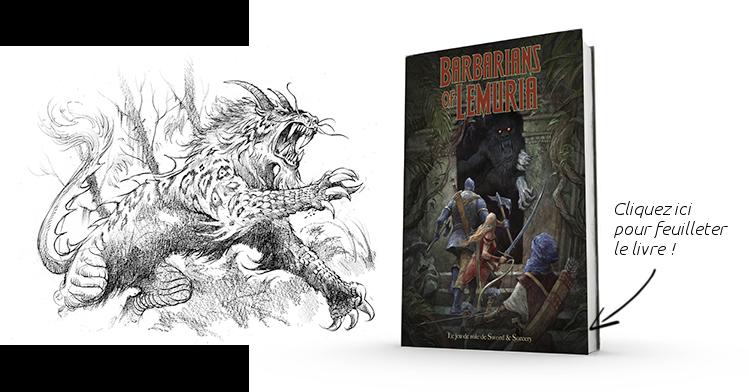 Couverture du livre Barbarians of Lemuria